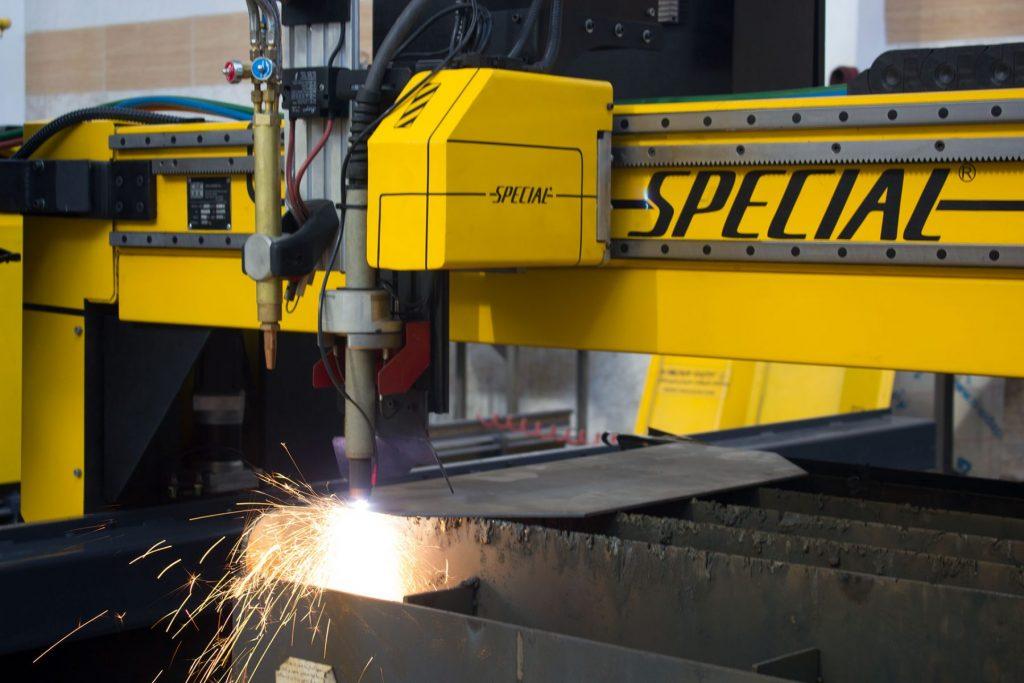 دستگاه تخصصی برش سی ان سی پلاسما با سرعت بالا مخصوص برش فلزات